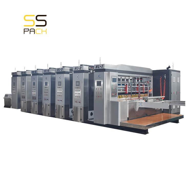 Автоматическая линия для производства гофрокоробов SS-1200