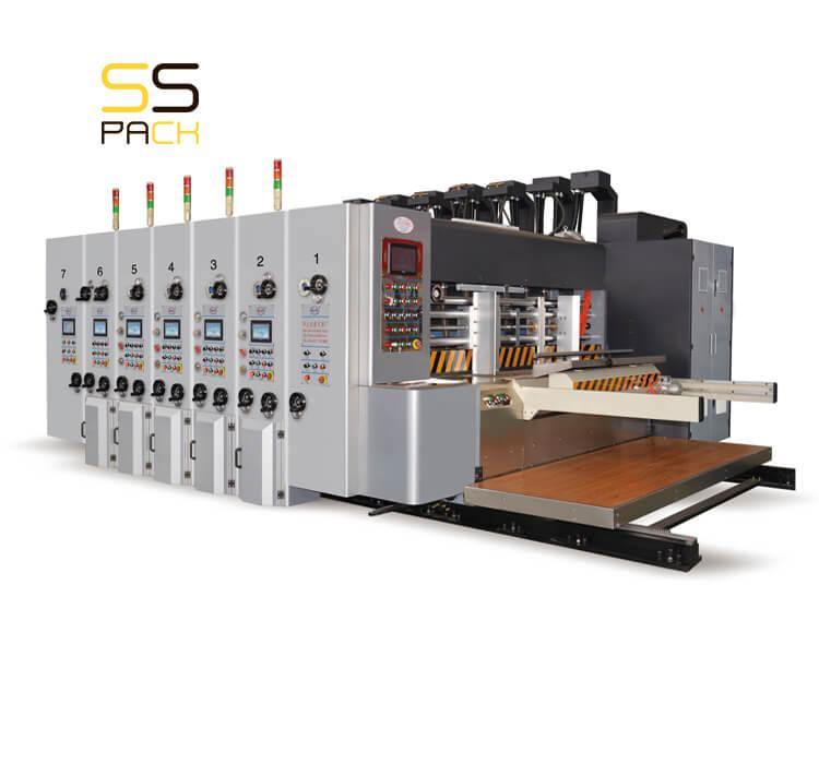Автоматическая линия для производства гофрокоробов SS-1260