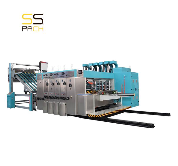 Автоматическая линия для производства гофрокоробов SS-1280