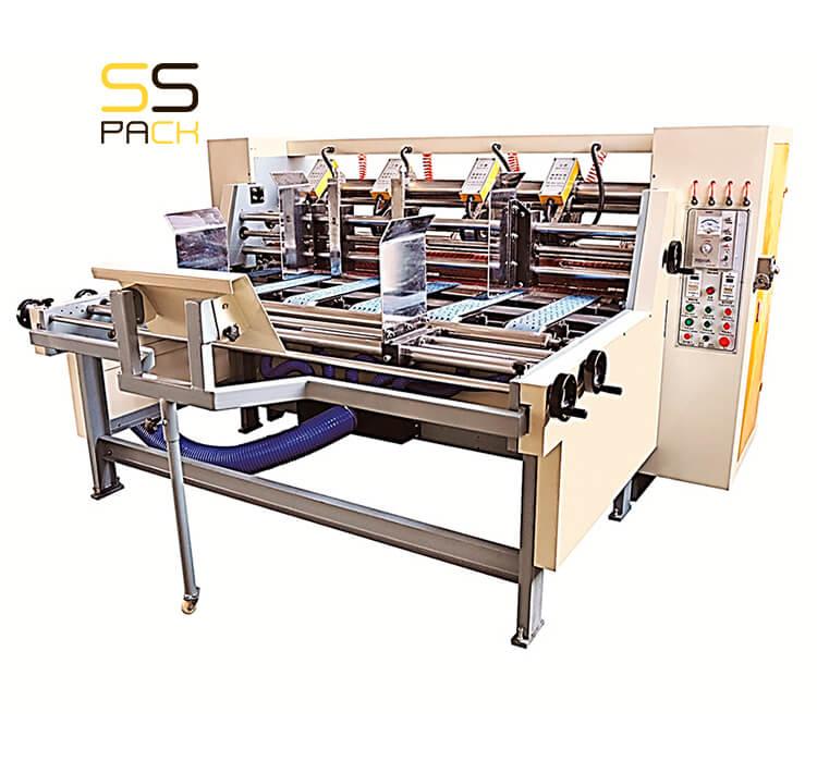 Автоматический рилевочно-резательный станок SSR-200M