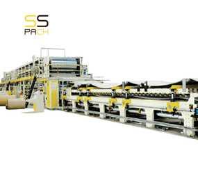 Линия для производства гофрокартона SS -3000