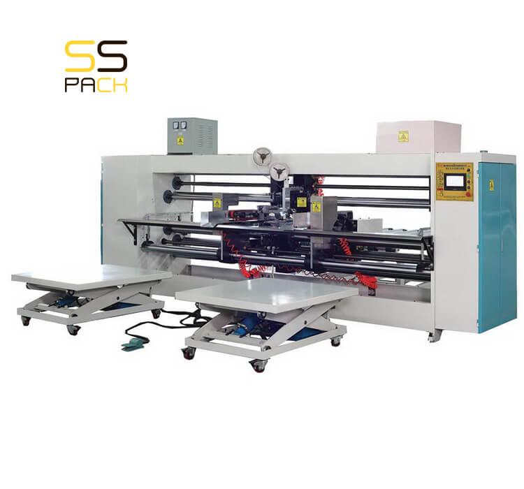 Полуавтоматическая сшивка для гофрокоробов SSS-1025A
