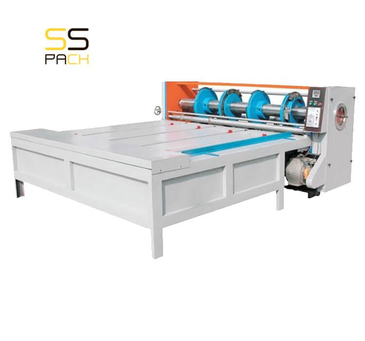 Полуавтоматический просекательно-рилевочный станок SSR-120 (слоттер)