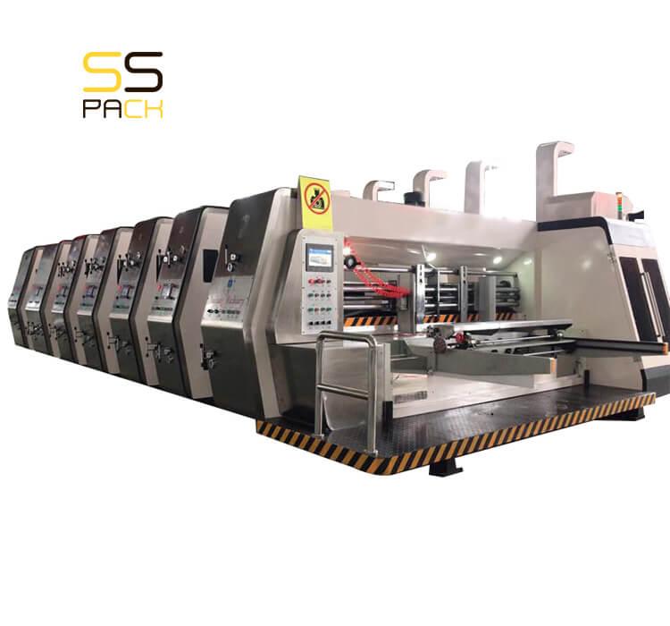Автоматическая линия для производства гофрокоробов SS-2812