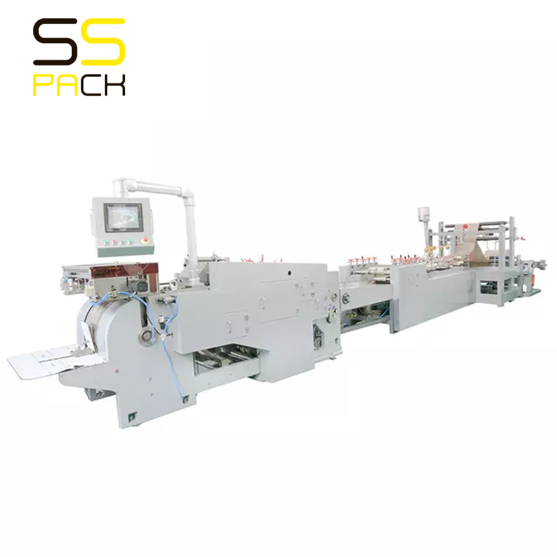 HD-330 / 430-1 / 550 Машина для производства бумажных пакетов с квадратным дном