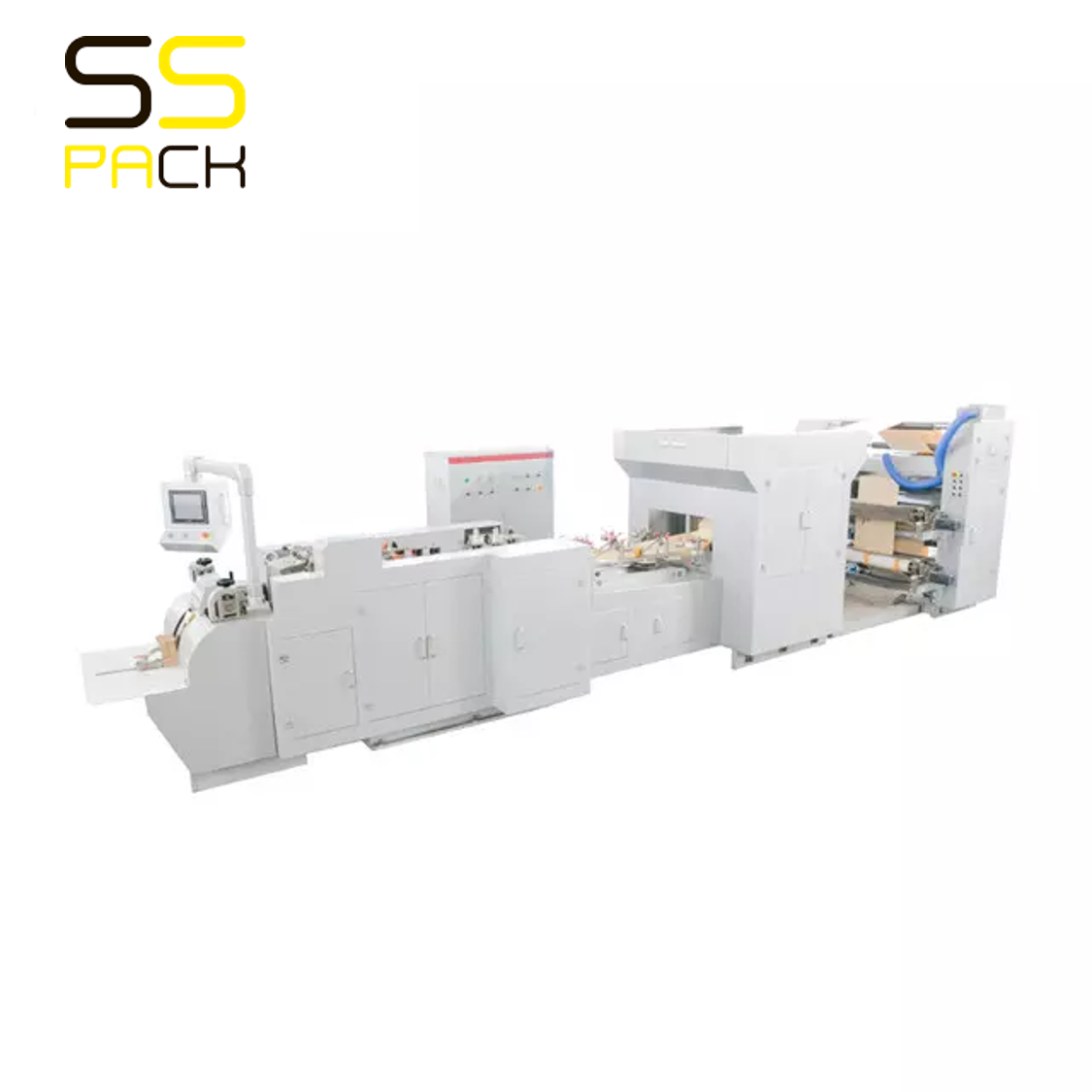 HD-200 Машина для изготовления бумажных пакетов с квадратным дном