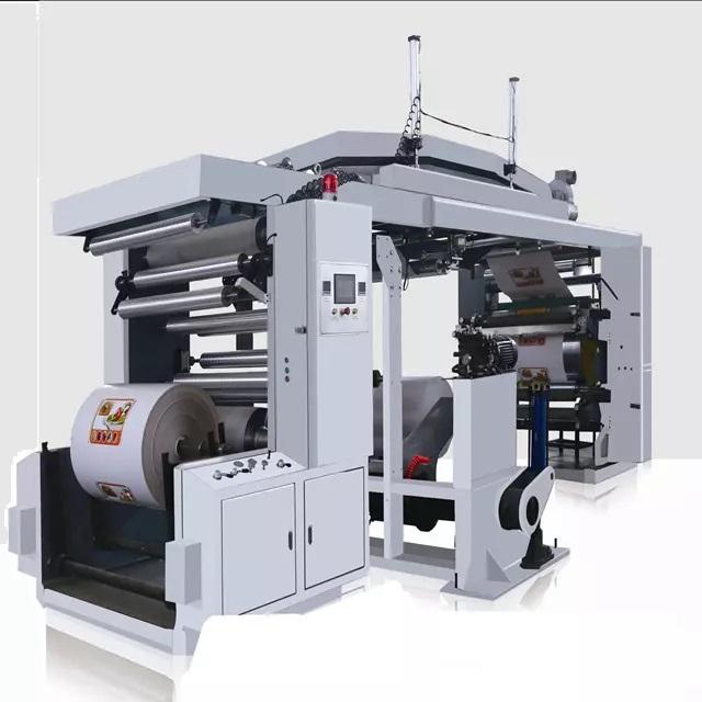 WX-4/6 Четыре / шесть цветных флексографских печатных машин CI
